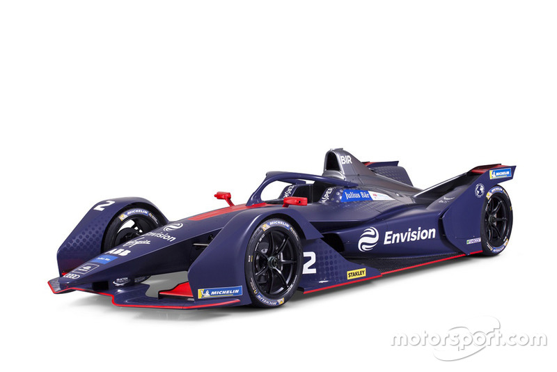 El Virgin Racing Gen2 de Fórmula E