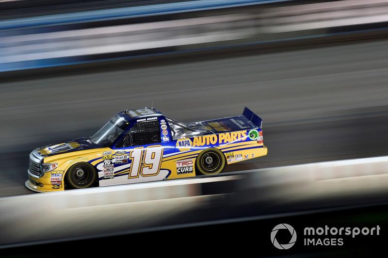 Derek Kraus, Bill McAnally Racing, Toyota Tundra NAPA Auto Parts at