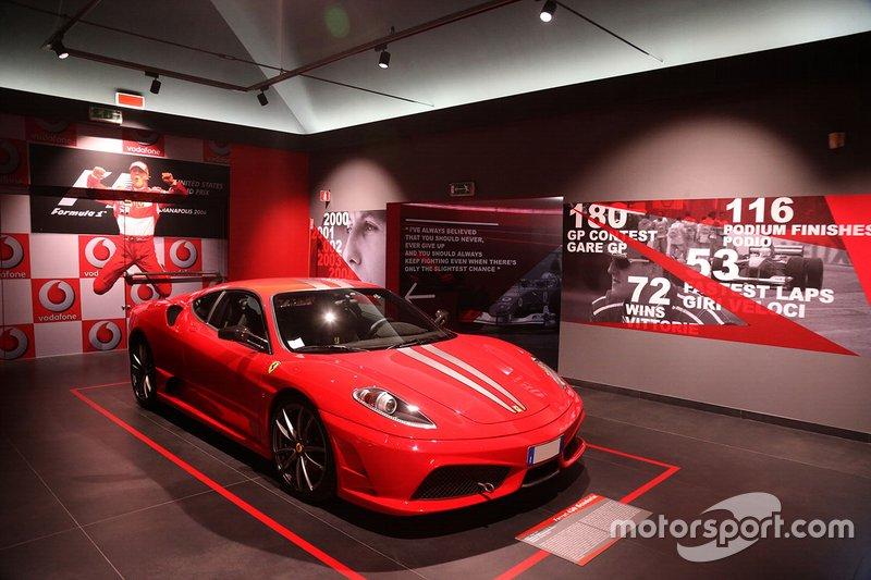 'Michael 50' Ferrari müzesi
