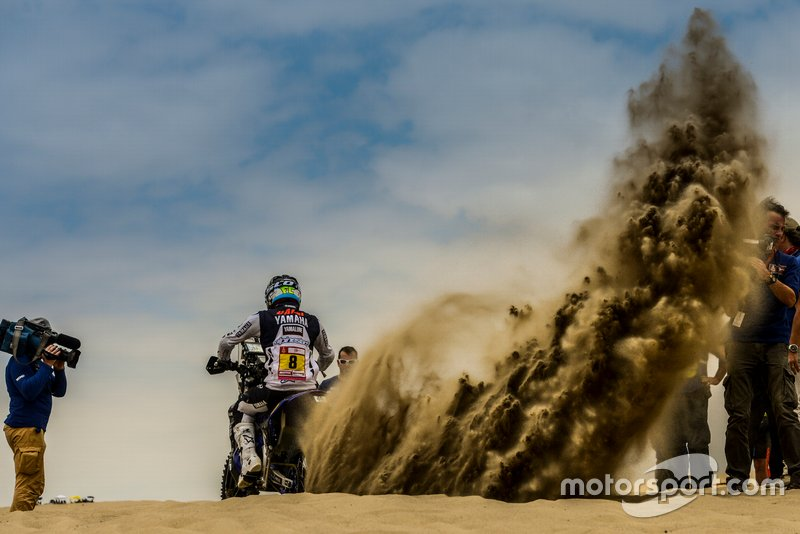 #8 Yamalube Yamaha Official Rally Team: Franco Caimi