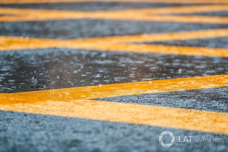 Дождь в Монце