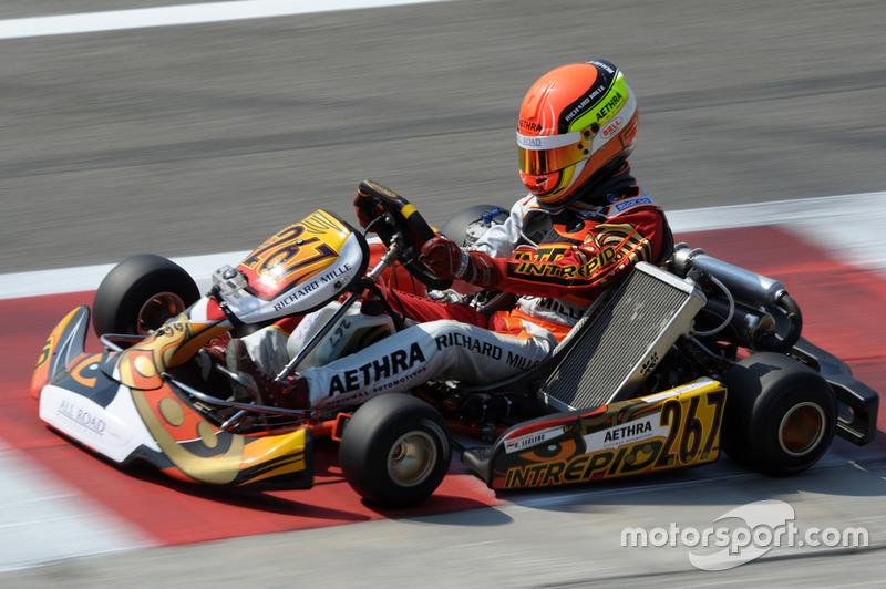 Шарль Леклер, CIK-FIA karting
