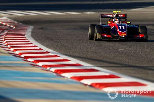 Formel-3-Test in Sachir