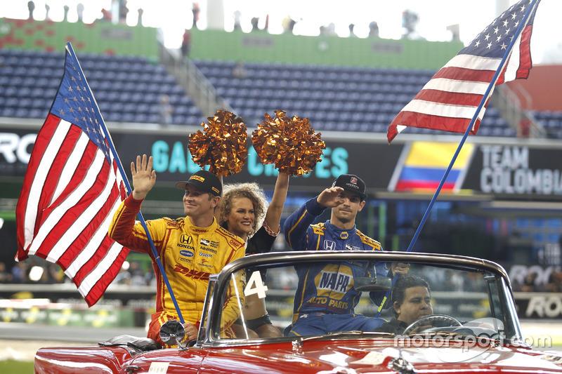 Ryan Hunter-Reay y Alexander Rossi, Team USA Indycar