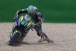 Remy Gardner, Tech 3 Racing dopo la caduta