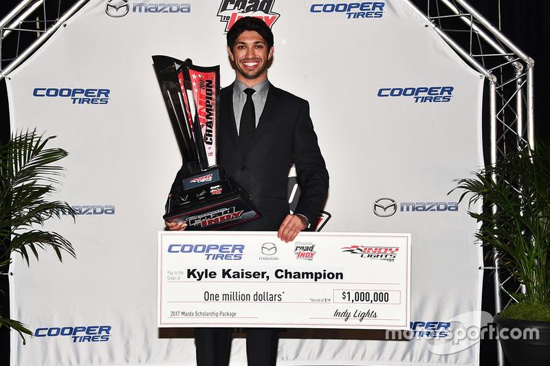 Indy Lights: Kyle Kaiser (USA)