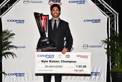 Indy Lights champion Kyle Kaiser