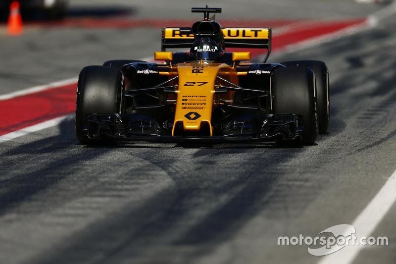 Nico Hulkenberg, Renault F1 Team RS 17
