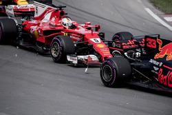 Себастьян Феттель, Ferrari SF70H, аварія
