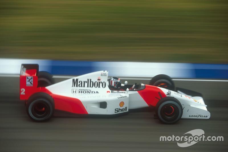 1992 (Аделаїда). Подіум: 1. Герхард Бергер, McLaren MP4/7A Honda. 2. Міхаель Шумахер, Benetton Ford Cosworth. 3. Мартін Брандл, Benetton Ford Cosworth
