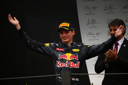 Third place Max Verstappen, Red Bull Racing RB12