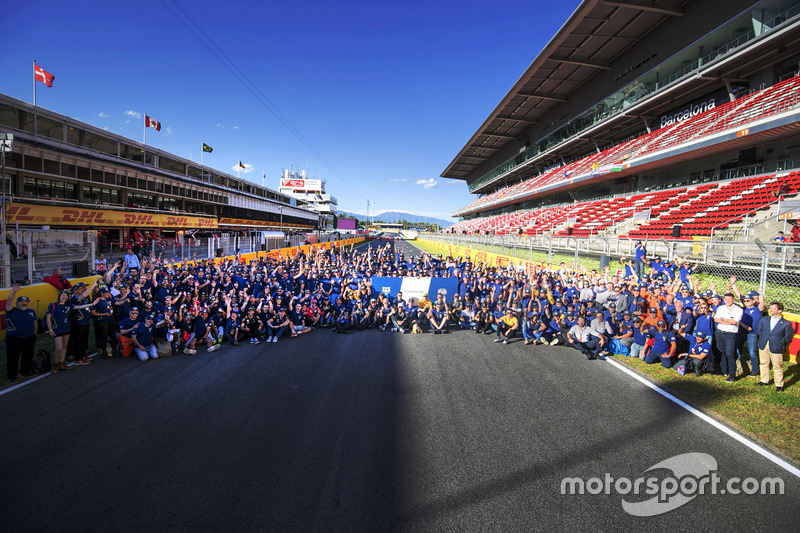 Drivers, officials and marshals gather for FIA Volunteers Day, which celebrates the volunteer work o