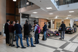 DS Virgin Racing factory visit