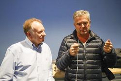 Neil Oatley, Design and Development Director for the McLaren Formula One team and Gil de Ferran