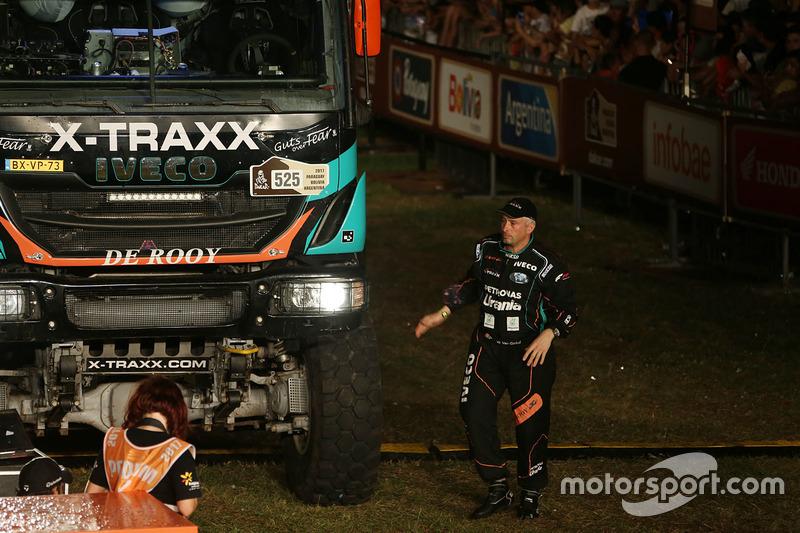 #525 Team De Rooy, IVECO: Wuf Van Ginkel