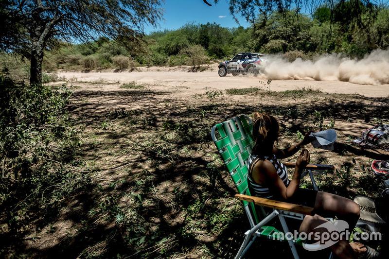 #314 X-Raid Team, Mini: Boris Garafulic, Filipe Palmeiro
