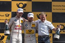Podium: 2. Marco Wittmann, BMW Team RMG, BMW M4 DTM, Stefan Reinhold, BMW Team RMG, 1. Timo Glock, BMW Team RMG, BMW M4 DTM
