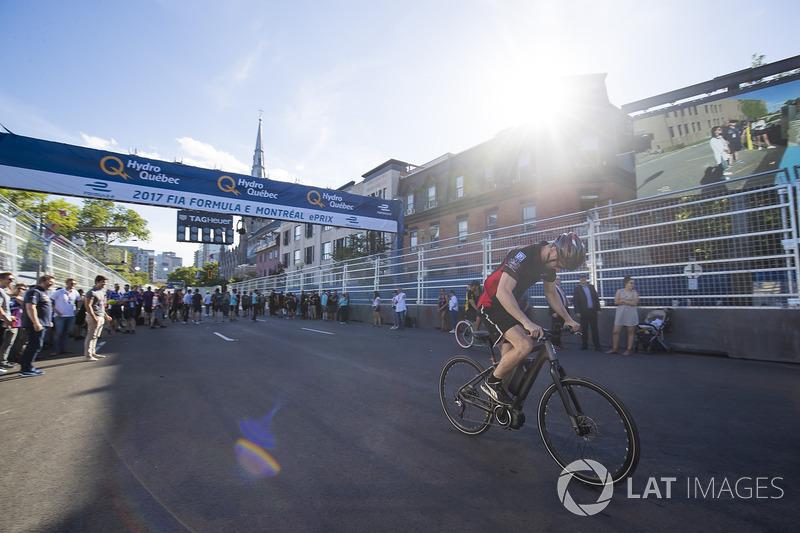 Carrera de bicis