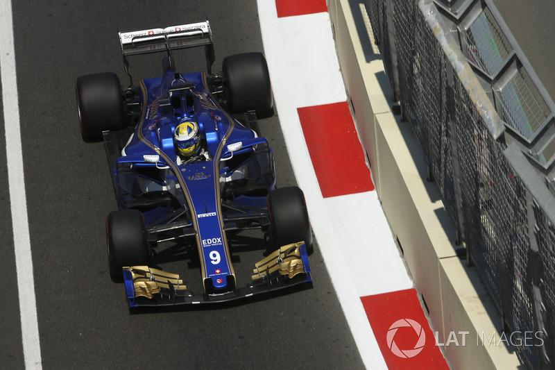 17. Маркус Ерікссон, Sauber C36