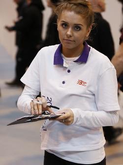 A Baku promotional girl