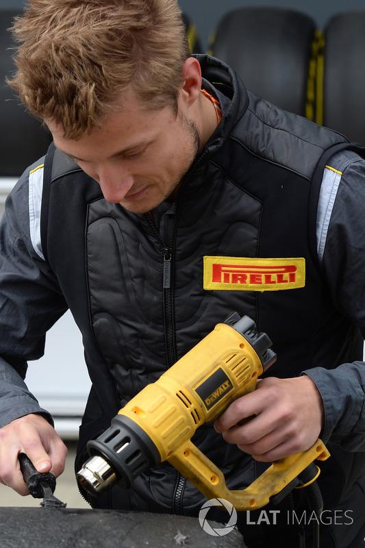 Pirelli engineer