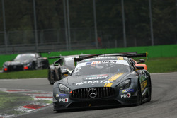 #12 Sports and You Mercedes AMG GT3: Marcio Basso, Nonô Figueiredo
