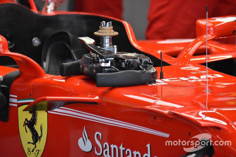 Volant de la Ferrari SF70H