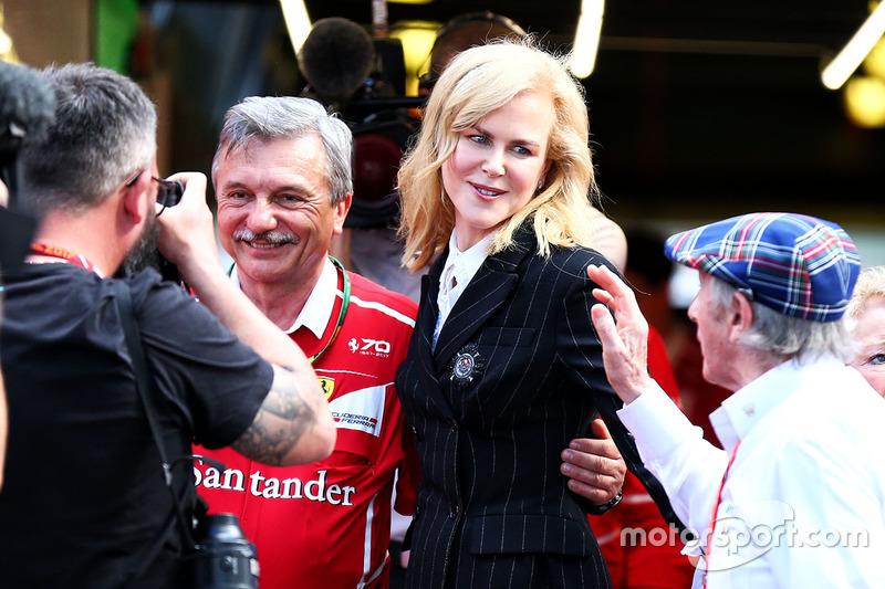 Nicole Kidman mit Jackie Stewart