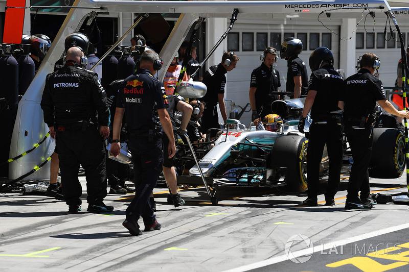 Льюіс Хемілтон, Mercedes-Benz F1 W08 Hybrid