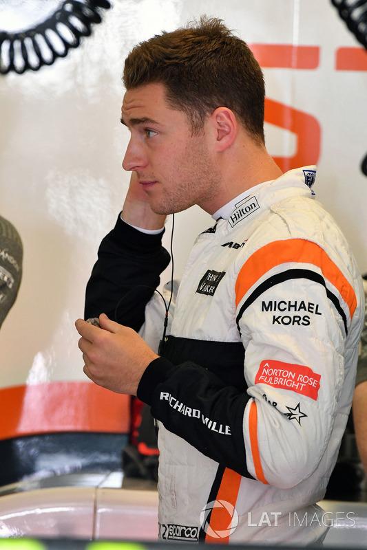 Стоффель Вандорн, McLaren