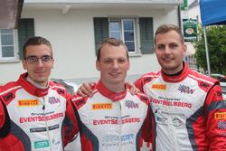 Benjamin Devaud, Rolf Reding, Lukas Eugster, Swiss Race Academy, Podium