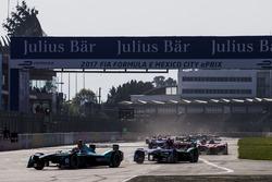 Start: Oliver Turvey, NEXTEV TCR Formula E Team, führt
