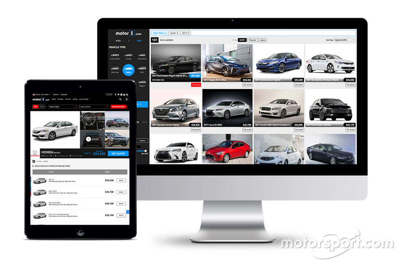 Motor1.com: Shopping-Plattform für Neu- und Gebrauchtwagen