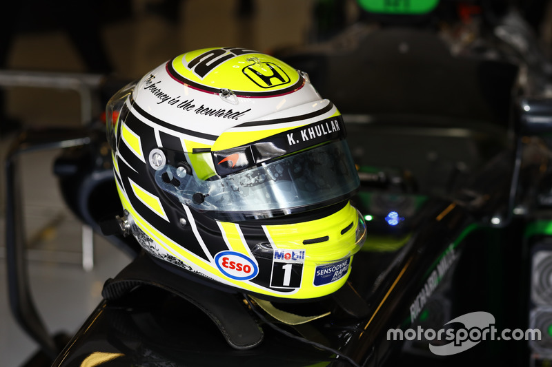 Casco de Jenson Button, McLaren