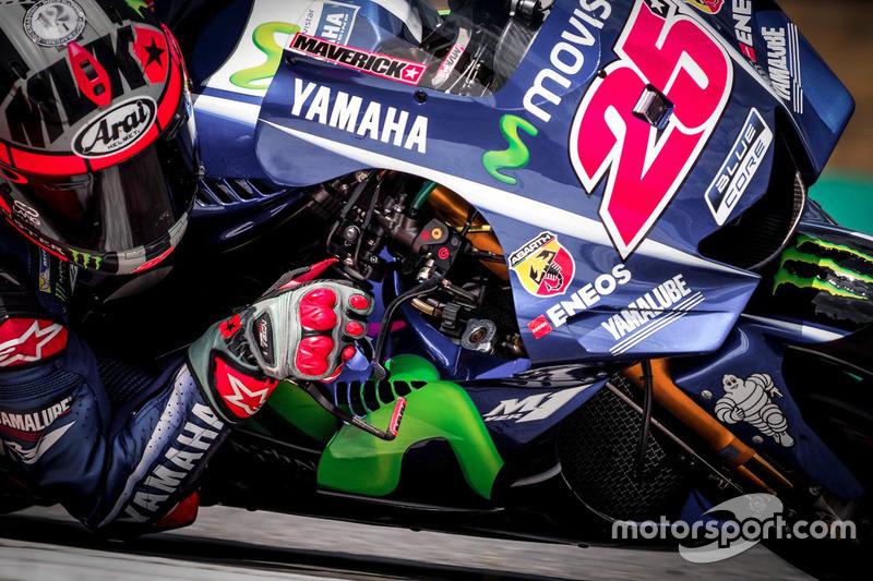 #9: Maverick Vinales, Yamaha, mit neuer Verkleidung