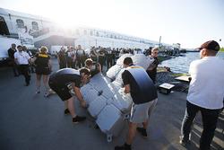The Pirelli Raft Race Team