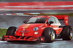 El FIAT 500, transformado en un F1