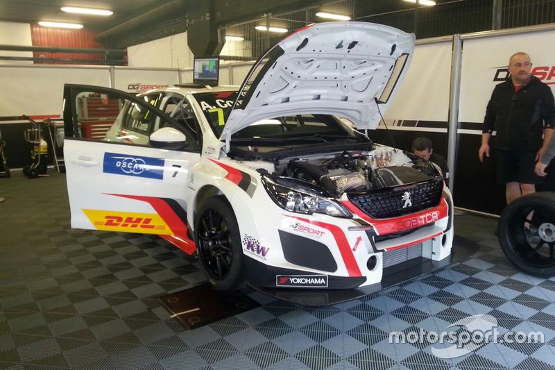 Автомобиль Peugeot 308 TCR Орельена Комта, DG Sport Competition