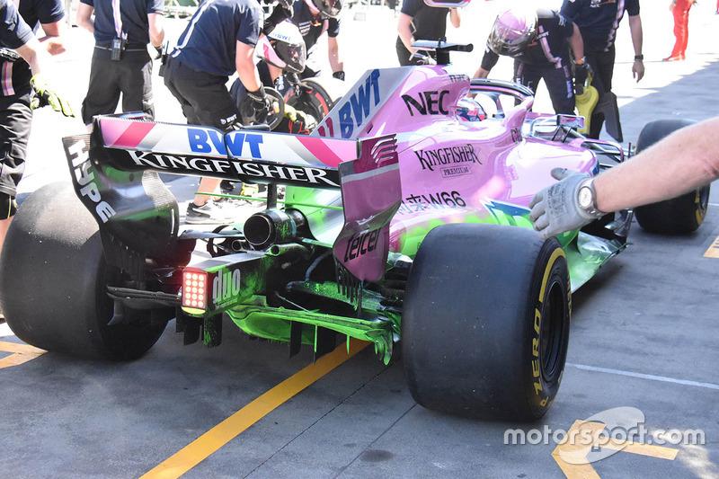L'arrière de la Force India VJM11