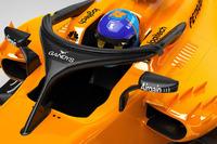 Halo McLaren MCL33 con logo Gandys