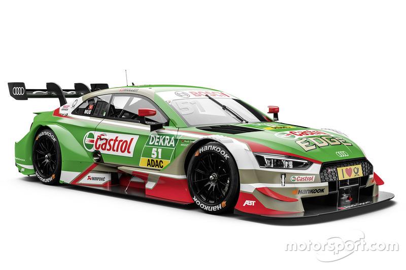 #51 Nico Müller, Audi Sport Team Abt Sportsline Audi RS5 DTM