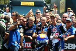 Segundo lugar Michael van der Mark, Pata Yamaha