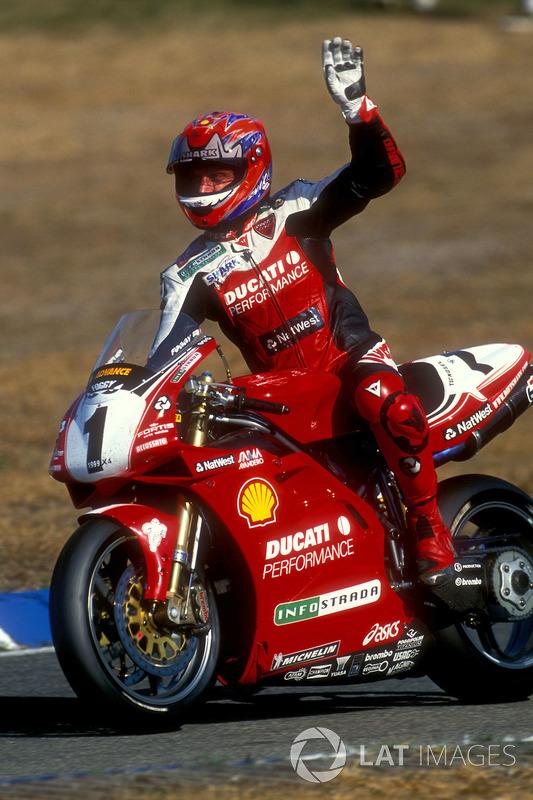 Superbike-Weltmeister 1999: Carl Fogarty, Ducati