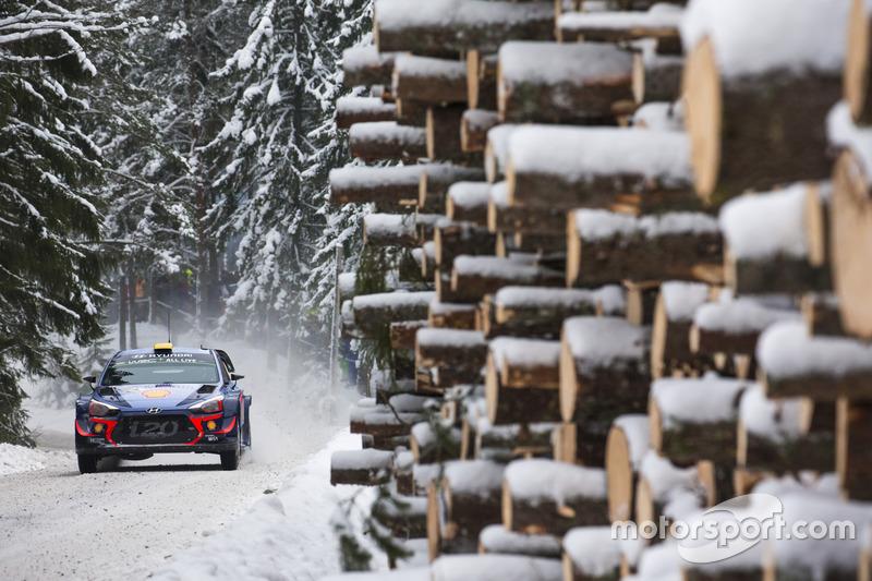 Андреас Миккельсен и Андерс Егер, Hyundai i20 WRC, Hyundai Motorsport