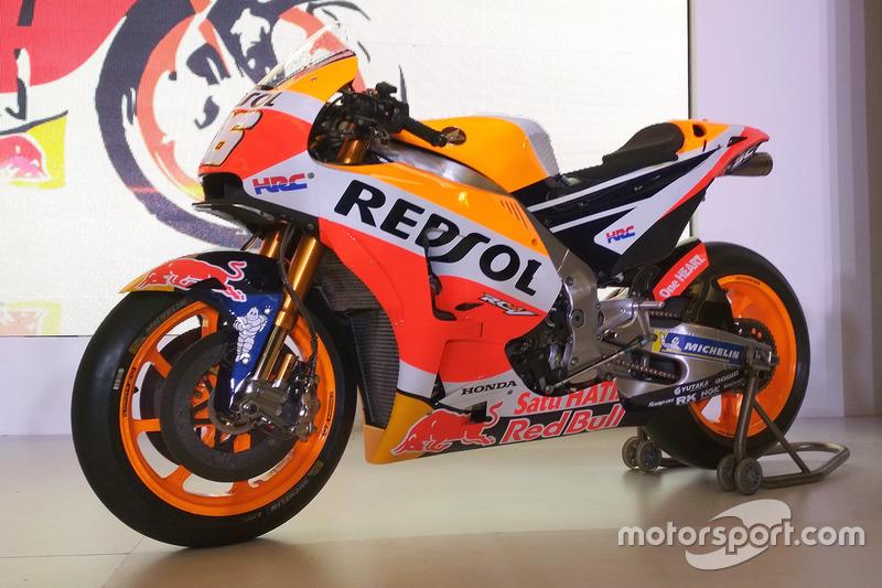 Moto de Dani Pedrosa, Repsol Honda Team