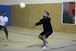 Timo Glock, Indoor Beachvolleyball