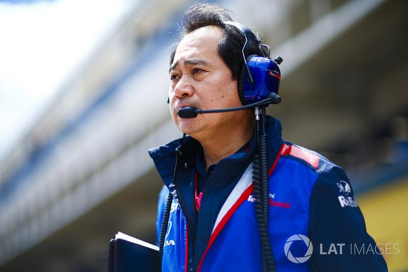 Toyoharu Tanabe, Direktur Teknis F1 Honda
