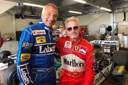 Riccardo Patrese, Eddie Irvine