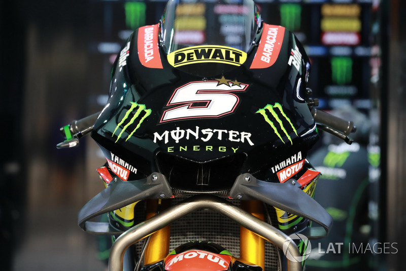 Johann Zarco, Monster Yamaha Tech 3 fairing