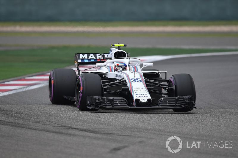 15. Sergey Sirotkin, Williams FW41